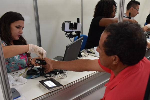 TRE realiza cadastramento biométrico em Rio das Ostras