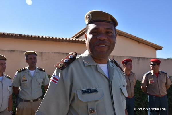 Polícia Militar da Bahia: major Cirilo deixa a Companhia Rural e vai para a 94ª CIPM em Caetité | BLOG DO ANDERSON